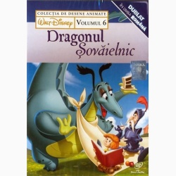 COLECŢIE DISNEY: DRAGONUL ŞOVĂIELNIC Vol. 6 / DISNEY COLLECTION: RELUCTANT DRAGON Vol.6 - DVD