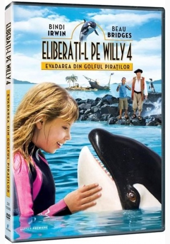 FREE WILLY 4 EVADAREA DIN GOLFUL PIRAŢILOR / FREE WILLY 4 ESCAPE FROM PIRATE'S COVE - DVD