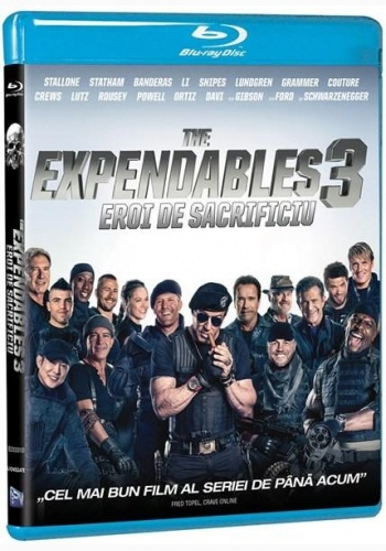 EROI DE SACRIFICIU 3 / THE EXPENDABLES 3 - BD