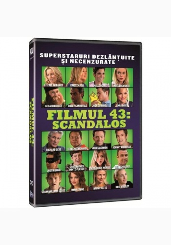 FILMUL 43: SCANDALOS / MOVIE 43 - DVD