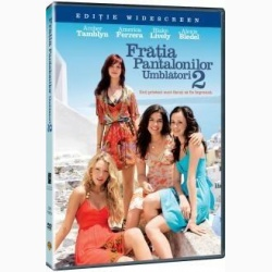 FRĂŢIA PANTALONILOR UMBLĂTORI 2 / SISTERHOOD OF TRAVELLING PANTS 2 - DVD