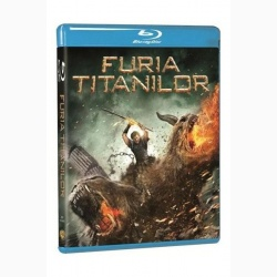 FURIA TITANILOR / WRATH OF THE TITANS - BD
