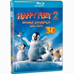 MUMBLE DANSEAZĂ DIN NOU 3D / HAPPY FEET 2 3D - 3D