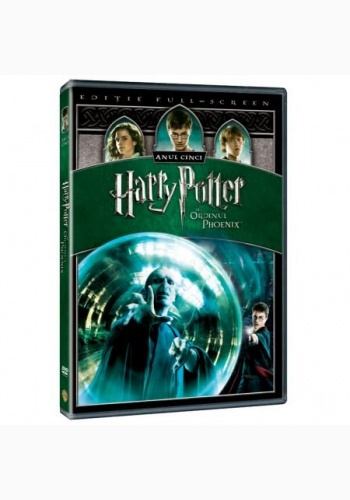 HARRY POTTER5 1Disc - ORDINUL PHOENIX / HARRY POTTER AND THE ORDER OF THE PHOENIX - DVD