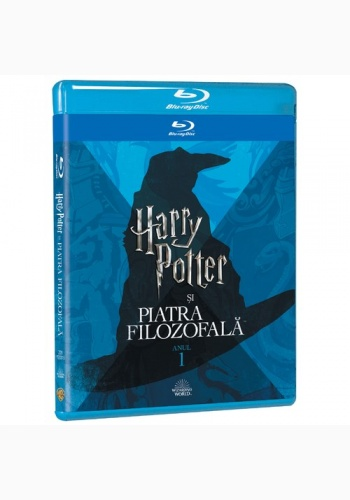 HARRY POTTER 1  - PIATRA FILOZOFALĂ Ediţie Iconică / HARRY POTTER AND THE PHILOSOPHER  Iconic Edition - BD