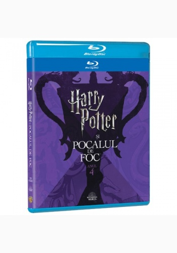 HARRY POTTER 4  - POCALUL DE FOC Ediţie Iconică / HARRY POTTER AND GOBLET OF FIRE  Iconic Edition - BD