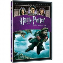 HARRY POTTER4 1Disc - POCALUL DE FOC / HARRY POTTER AND GOBLET OF FIRE - DVD