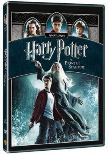 HARRY POTTER6 1Disc - PRINŢUL SEMIPUR / HARRY POTTER AND THE HALF-BLOOD PRINCE - DVD
