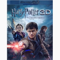 HARRY POTTER7 2Disc - TALISMANELE MORŢII 3D Partea 2 / HARRY POTTER AND THE DEATHLY HALLOWS 3D Part 2 - 3D