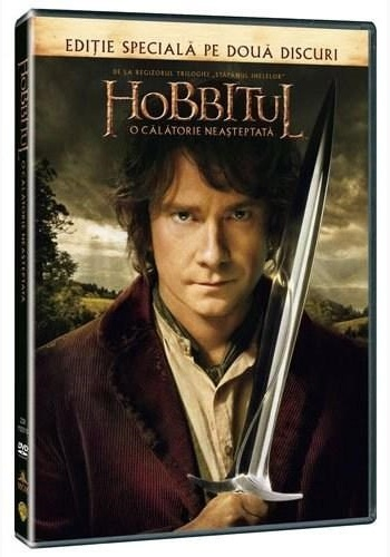 HOBBITUL 1: O CĂLĂTORIE NEAŞTEPTATĂ (2disc) / HOBBIT, THE- AN UNEXPECTED JOURNEY (2disc) - DVD