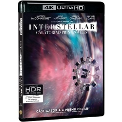 Interstellar - Calatorind prin univers 4K UHD (Blu Ray Disc) / Interstellar