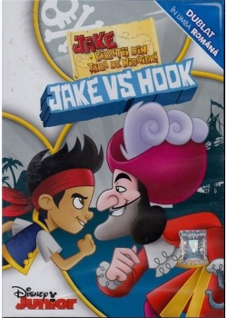 JAKE ŞI PIRAŢII DIN ŢARĂ DE NICĂIERI: JAKE VS. HOOK / JAKE AND THE NEVERLAND PIRATES- JAKE VS. HOOK - DVD