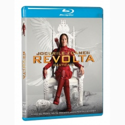 JOCURILE FOAMEI 3: REVOLTA Partea 2 / HUNGER GAMES, THE: MOCKINGJAY Part 2 - BD
