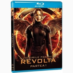 JOCURILE FOAMEI 3: REVOLTA Partea 1 / HUNGER GAMES, THE: MOCKINGJAY Part 1 - BD