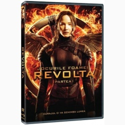 JOCURILE FOAMEI 3: REVOLTA Partea 1 / HUNGER GAMES, THE: MOCKINGJAY Part 1 - DVD