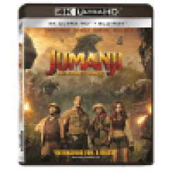 Jumanji: Aventura în junglă / Jumanji: Welcome to the Jungle - UHD 2 discuri (4K Ultra HD + Blu-ray)