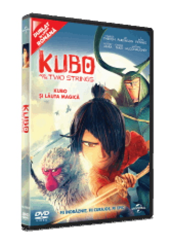 Kubo şi Lăuta Magică / Kubo and the Two Strings - DVD