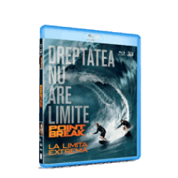 La limita extremă / Point Break - BLU-RAY 2D si 3D