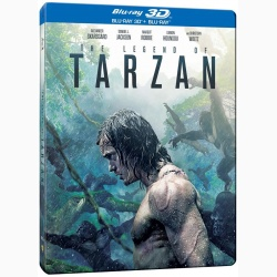 LEGENDA LUI TARZAN / THE LEGEND OF TARZAN 3D Steelbook - 3D
