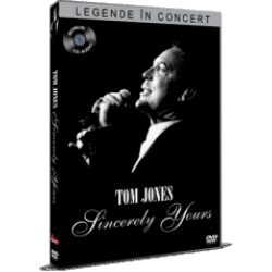 Legende în concert: Tom Jones / Tom Jones: Sincerely Yours - DVD + CD audio bonus