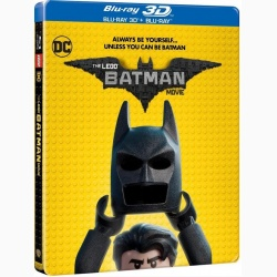 LEGO BATMAN - FILMUL 3D Steelbook / LEGO BATMAN MOVIE STEELBOOK - 3D Steelbook