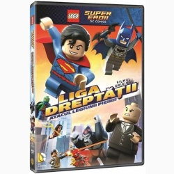 LEGO: LIGA DREPTĂȚII: ATACUL LEGIUNII PIEIRII / LEGO DC SUPER HEROES: JUSTICE LEAGUE: ATTACK OF THE LEGION OF DOOM! - DVD