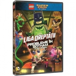 LEGO JUSTICE LEAGUE: PROBLEME ÎN GOTHAM / LEGO JUSTICE LEAGUE: GOTHAM CITY BREAKOUT - DVD