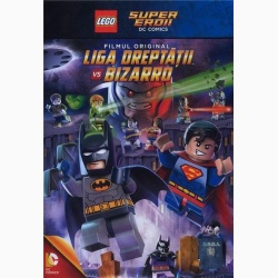 LEGO: LIGA DRETATII VS. BIZARRO / LEGO: JUSTICE LEAGUE VS. BIZARRO LEAGUE  - DVD