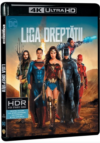 Liga dreptatii 4K UHD (Blu Ray Disc) / Justice League
