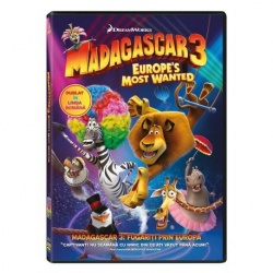 MADAGASCAR 3: FUGĂRIŢI PRIN EUROPA  / MADAGASCAR 3: EUROPE'S MOST WANTED - DVD