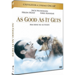 Mai bine nu se poate / As Good As It Gets - DVD