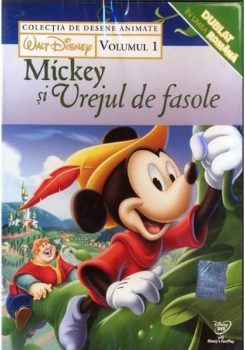 COLECŢIE DISNEY: MICKEY ŞI VREJUL DE FASOLE Vol. 1 / DISNEY COLLECTION: MICKEY & BEANSTALK Vol.1 - DVD