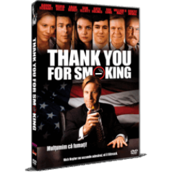 Mulţumim că fumaţi! / Thank You For Smoking - DVD