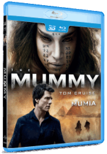 Mumia / The Mummy (2017) - BLU-RAY combo (2D + 3D)