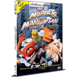 Muppets cuceresc Manhattan-ul / The Muppets Take Manhattan - DVD