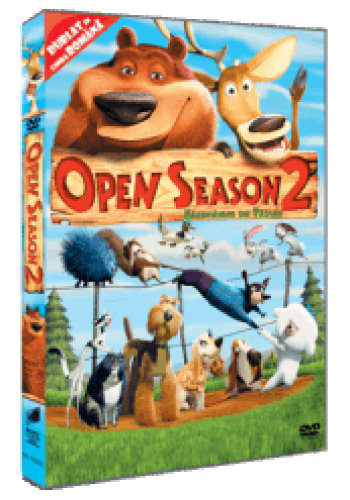 Năzdravanii din Pădure 2 / Open Season 2 - DVD
