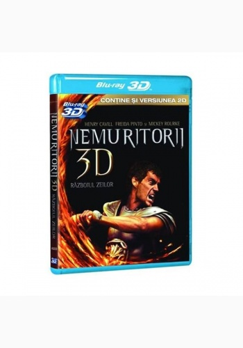NEMURITORII / WAR OF THE GODS aka IMMORTALS 3D combo - 3D