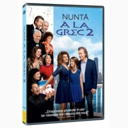 NUNTA A LA GREC 2 / MY BIG FAT GREEK WEDDING 2 - DVD