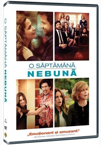 O SĂPTĂMÂNĂ NEBUNĂ / THIS IS WHERE I LEAVE YOU - DVD
