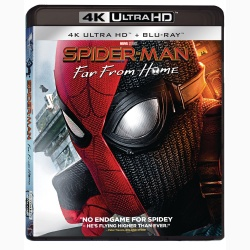Omul-Paianjen: Departe de casa / Spider-Man: Far from Home - UHD 2 discuri (4K Ultra HD + Blu-ray)