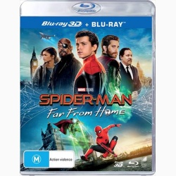 Omul-Paianjen: Departe de casa / Spider-Man: Far from Home - BLU-RAY 3D + BLU-RAY 2D