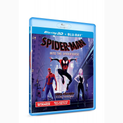 Omul-Paianjen: In lumea paianjenului / Spider-Man: Into the Spider-Verse - BLU-RAY 3D + 2D
