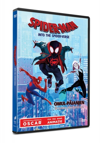 Omul-Paianjen: In lumea paianjenului / Spider-Man: Into the Spider-Verse - DVD