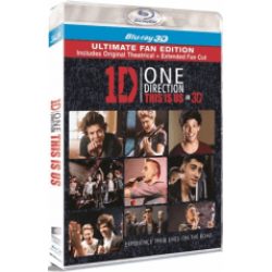 One Direction: Ăştia suntem / One Direction: This is Us - BLU-RAY 3D