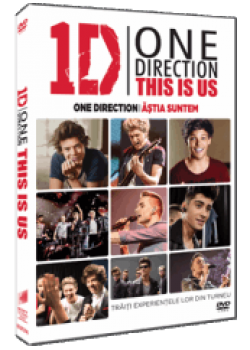 One Direction: Ăştia suntem / One Direction: This is Us - DVD