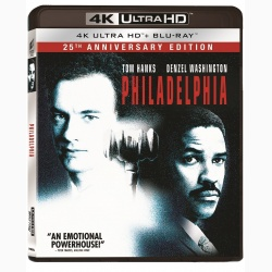Philadelphia: 25th Anniversary Edition - UHD 2 discuri (4K Ultra HD + Blu-ray)