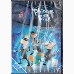 PHINEAS ŞI FERB ÎN A 2-A DIMENSIUNE / PHINEAS AND FERB THE MOVIE- BEYOND 2nd DIMENSION - DVD