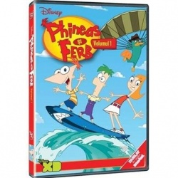 PHINEAS ŞI FERB Vol. 1 / PHINEAS AND FERB VOL.1- THE FAST ANDTHE PHINEAS - DVD