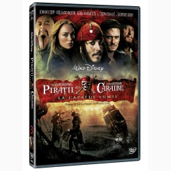 PIRAŢII DIN CARAIBE 3: LA CAPĂTUL LUMII / PIRATES OF THE CARRIBEAN: AT WORLD'S END - DVD