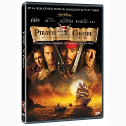 PIRAŢII DIN CARAIBE 1: BLESTEMUL PERLEI NEGRE / PIRATES OF THE CARIBBEAN: THE CURSE OF THE BLACK PEARL - DVD